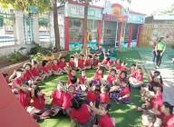 Hình ảnh giao lưu với Trường mầm non Bình Minh – Huyện Đăk Tô