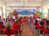Hình ảnh ngày hội bé đến trường năm học 2020-2021